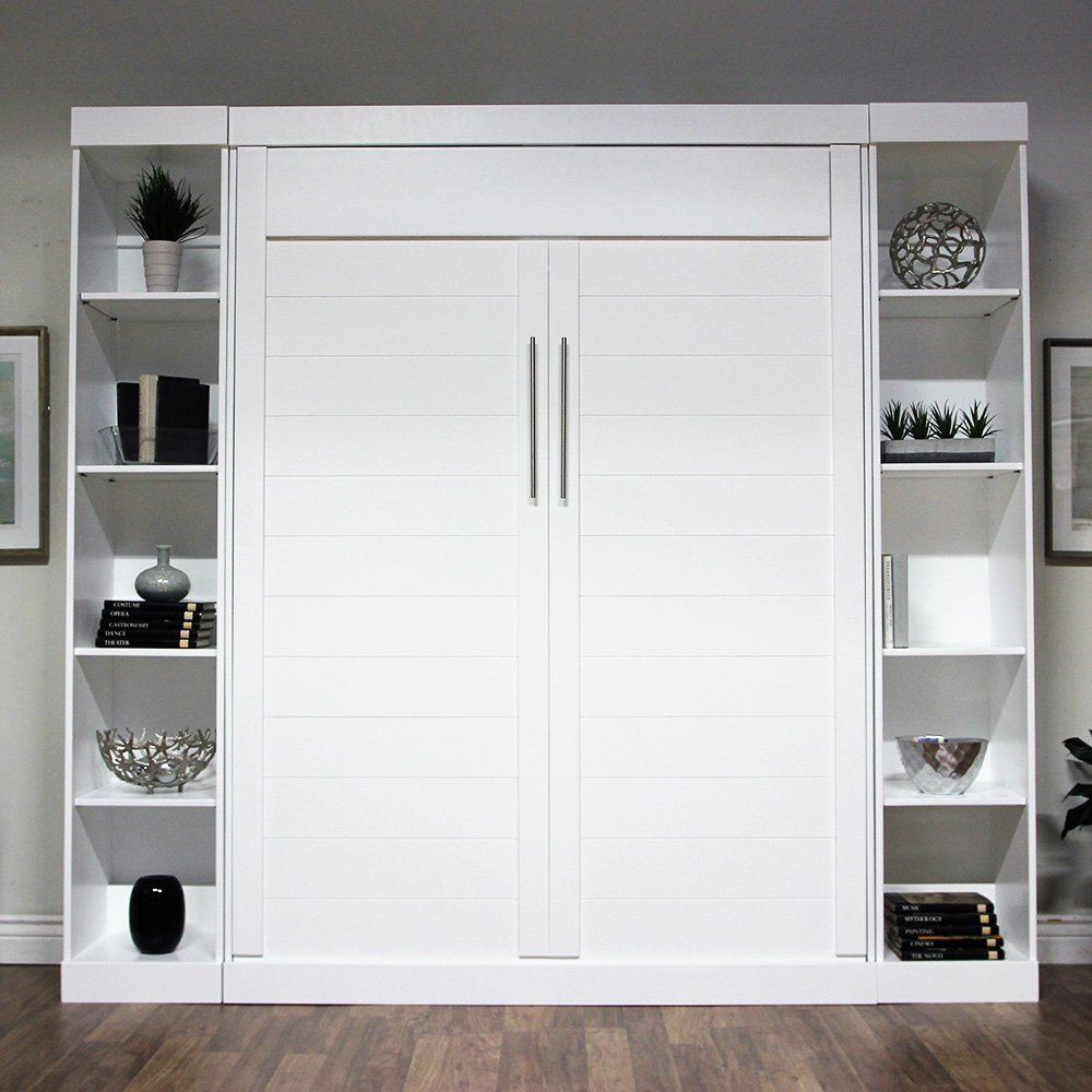 dublin-white-wallbed-with-cabinets