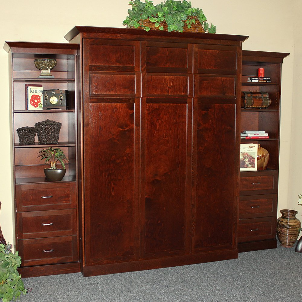 heritage-murphy-bed-with-cabinets